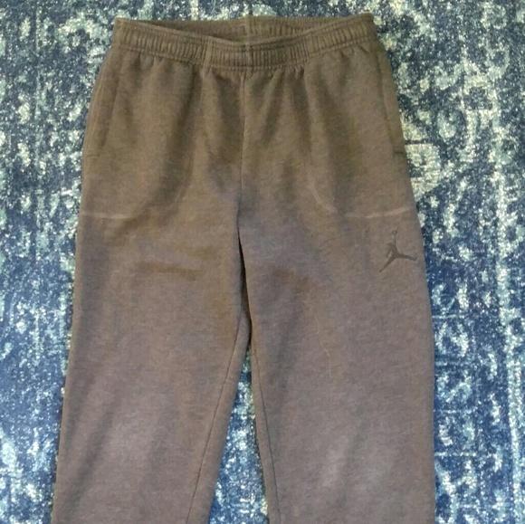 e734f1ed0926bb Jordan Other - Jordan boys  XL charcoal sweatpants joggers
